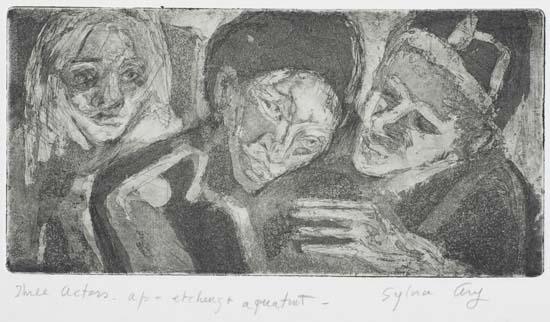 Three Actors (Artist's Proof) - Cat. #338