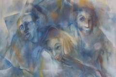 Huile sur toile / Oil on canvas